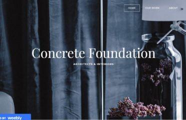 Concrete Foundation | Building Designer- ARCHITECTS & INTERIORS in Bangladesh