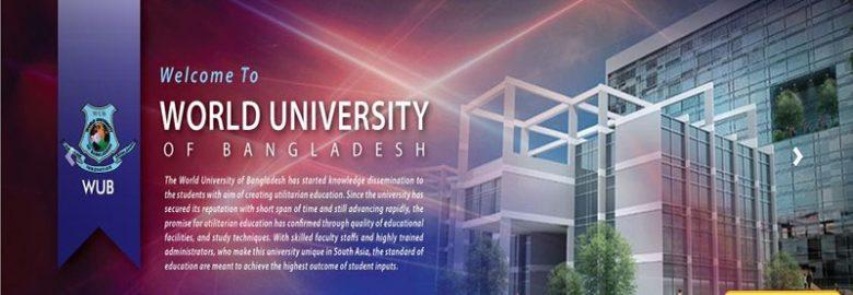 World University of Bangladesh (WUB)
