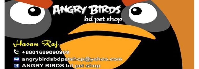 ANGRY BIRDS bd pet shop