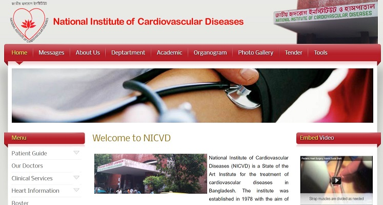 National Institute of Cardiovascular Diseases (NICVD)