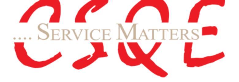 Center for Service Quality Enhancement (CSQE)
