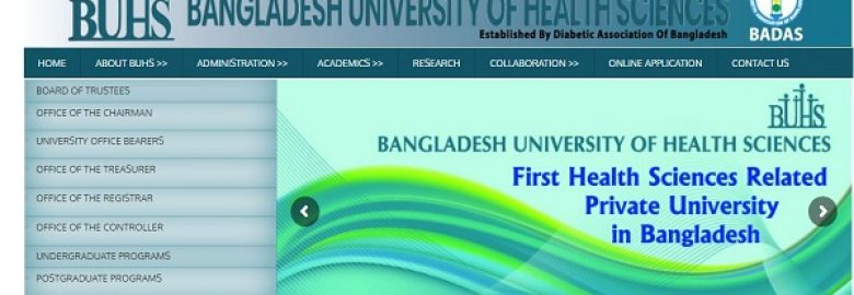 Bangladesh University of Health Sciences