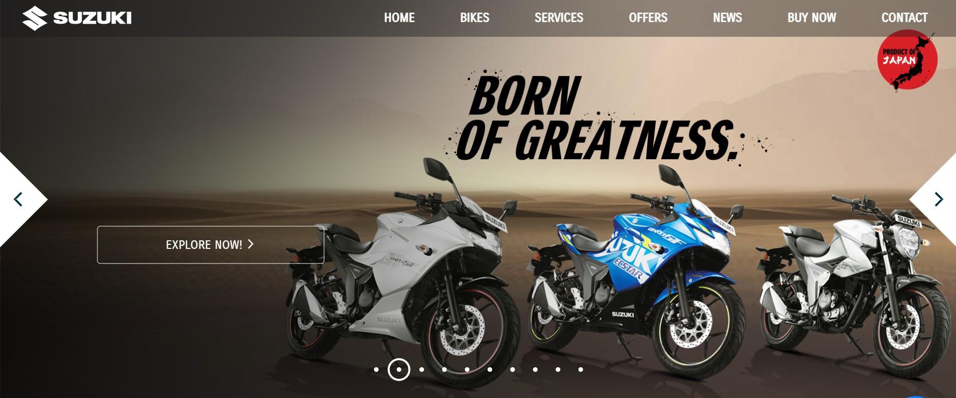 Suzuki Motorbike Price in Bangladesh