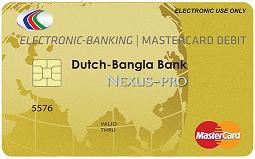 DBBL MasterCard International Debit Cards