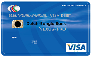 DBBL VISA International Debit Card