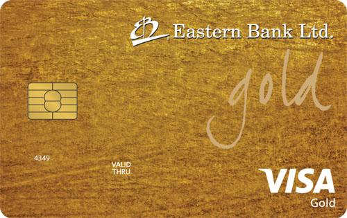 EBL Visa Gold Credit Card