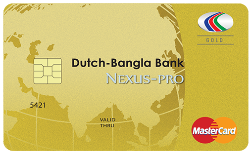 MasterCard Gold International Credit Card