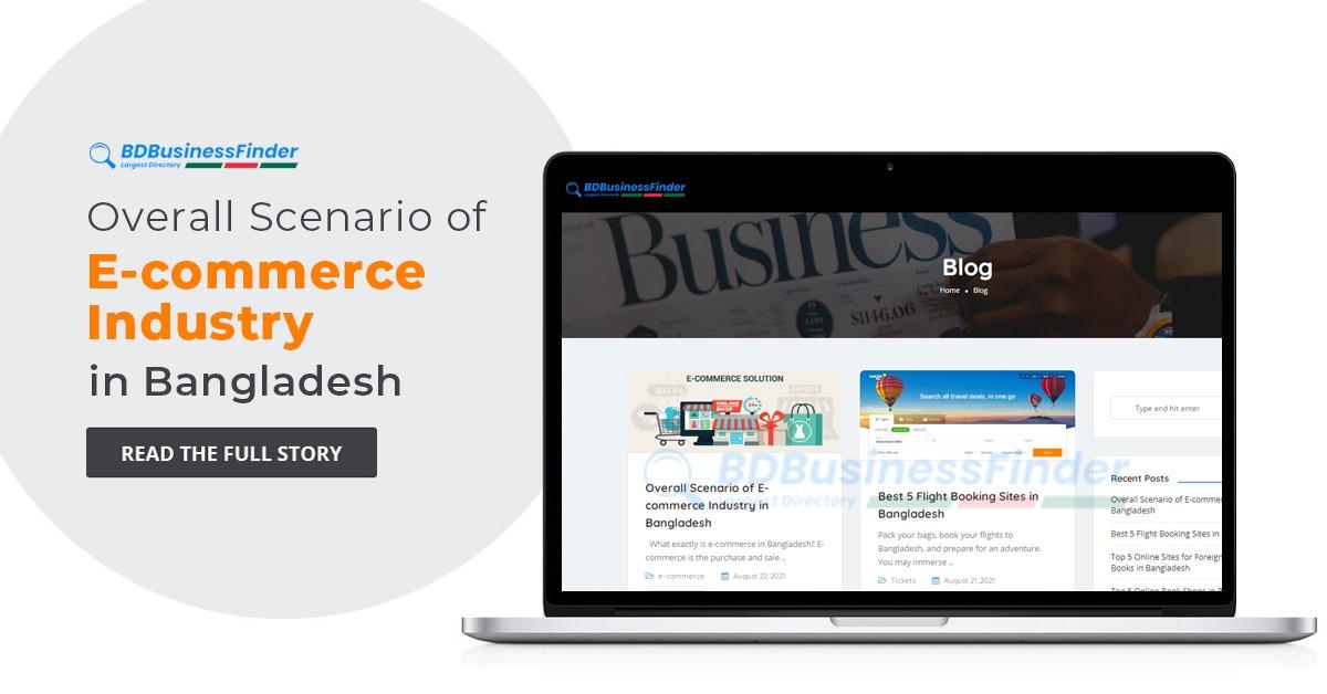 Overall Scenario of E-commerce Industry in Bangladesh