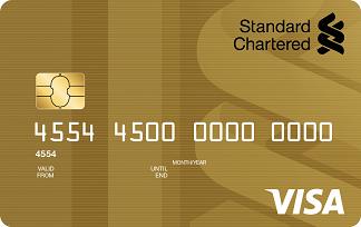 Standard Chartered Visa Gold Debit Card