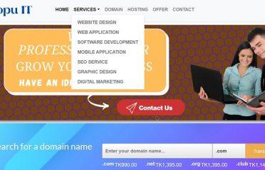 Topu IT   Web development & Hosting in BD