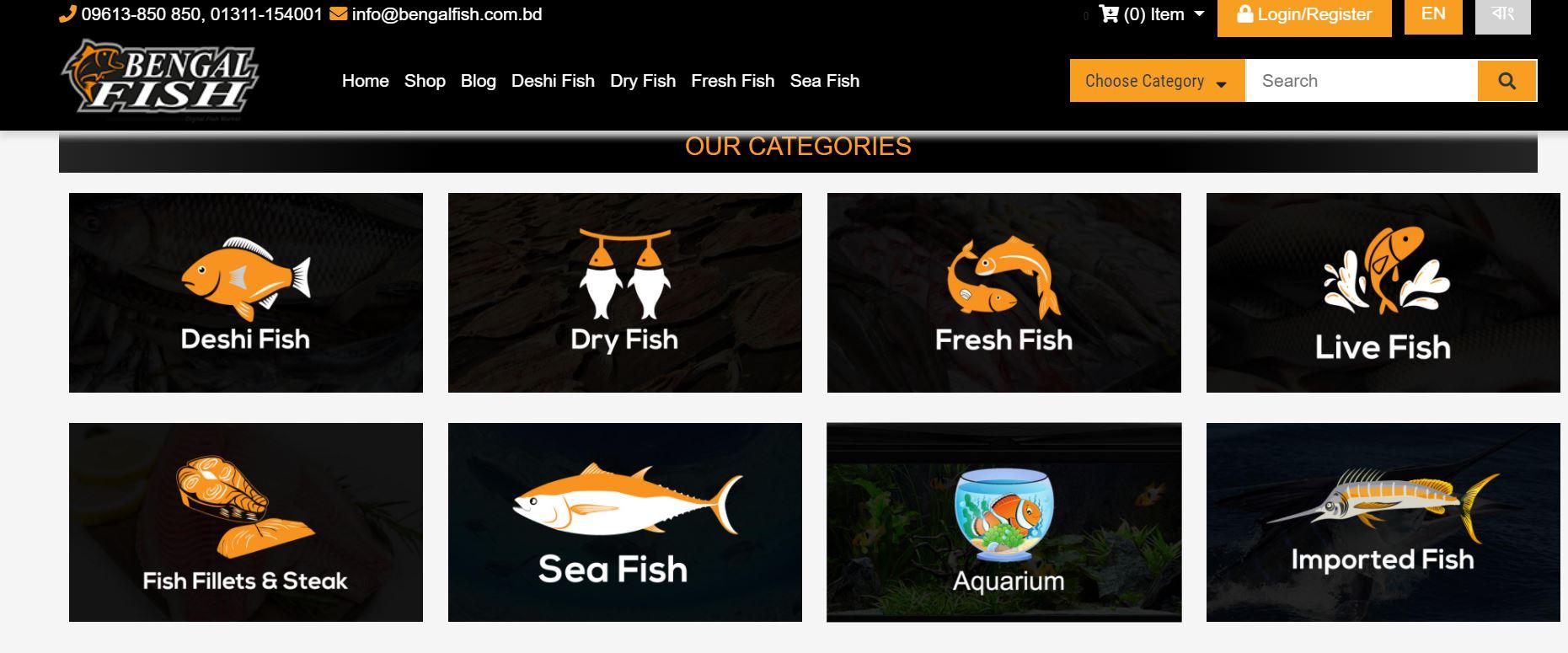 online fish