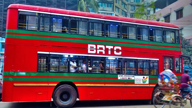 BRTC Double Decar Bus