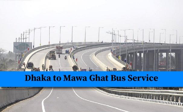 dhaka to mawa ghat bus service