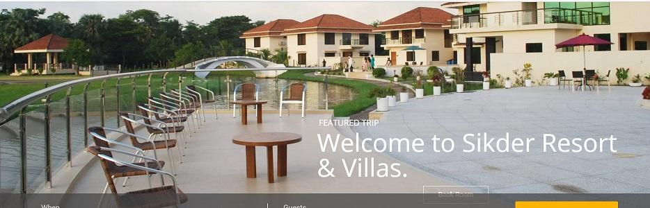 sikder resort Villa